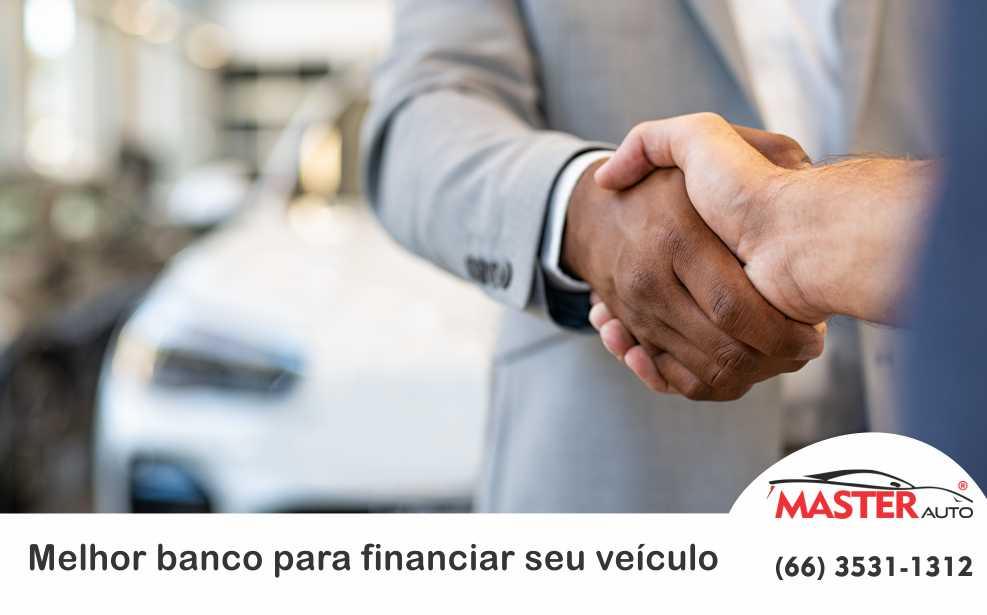 Melhor banco para financiar seu veículo